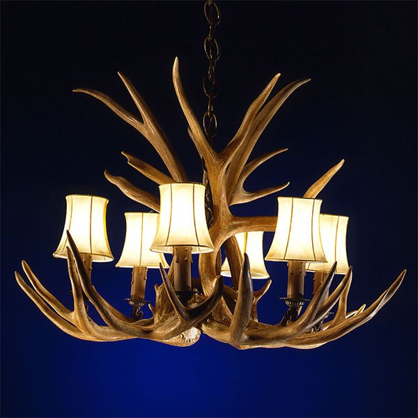 Antler Chandeliers 27 to 34 Inches