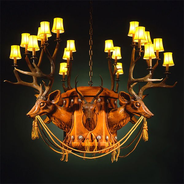 Antler Chandeliers 36 to 40 Inches