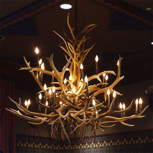 Antler Chandeliers 72 to 96 Inches